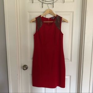 Tinley Road red cocktail dress